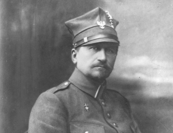 Józef Dowbor-Muśnicki, generał broni, dowódca wojsk wielkopolskich - fotografia pozowana. /Z archiwum Narodowego Archiwum Cyfrowego