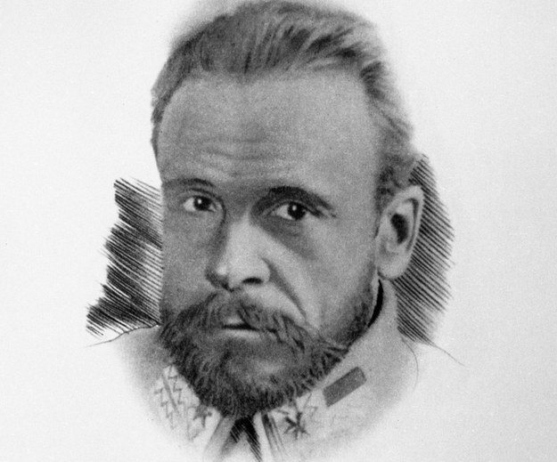 Józef Haller (portret z 1914 r.) /Danuta B. Łomaczewska /East News