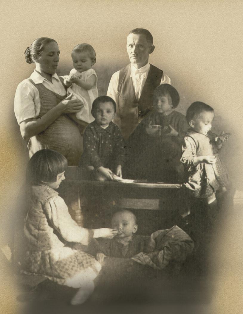Józef i Wiktoria Ulmowie ze swoimi dziećmi /Archiwum autora