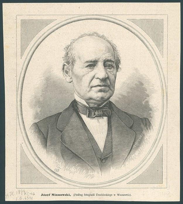 Józef Mianowski /Domena publiczna /Wikipedia
