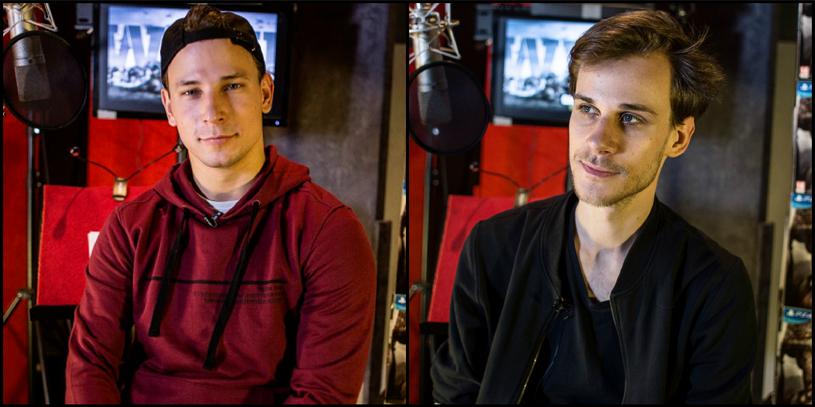 Józef Pawłowski i Marcel Sabat - aktorzy użyczyli swoich głosów dwóm głównym bohaterom Call of Duty: WWII /materiały prasowe