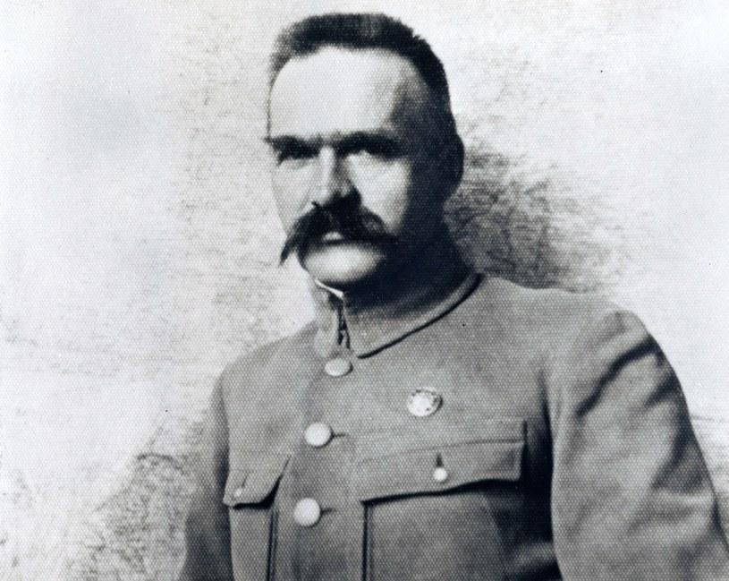 Józef Piłsudski, 1918 rok /Reprodukcja: FoKa /Agencja FORUM