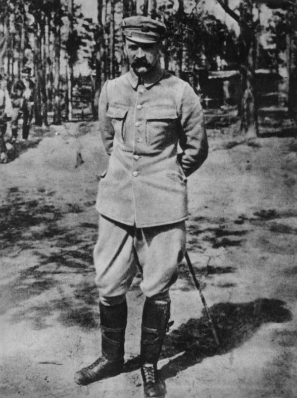 Józef Piłsudski prowokował Niemców do internowania /Z archiwum Narodowego Archiwum Cyfrowego