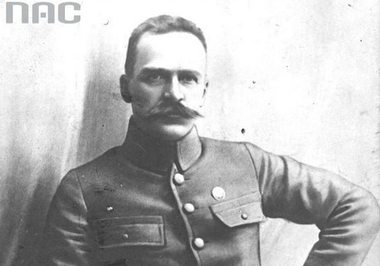 Józef Piłsudski: Zdjęcie z 1914 roku /Z archiwum Narodowego Archiwum Cyfrowego