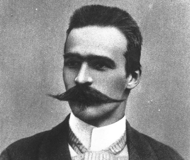 Józef Piłsudski. Zdjęcie z końca XIX wieku /Z archiwum Narodowego Archiwum Cyfrowego