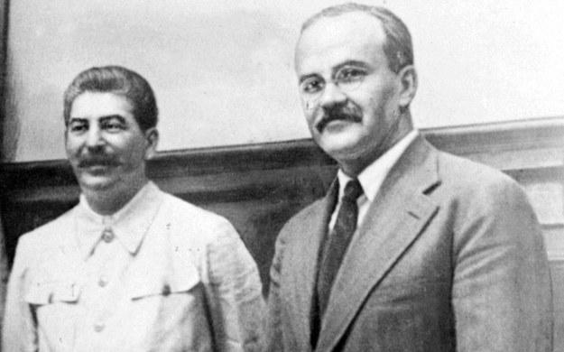 Józef Stalin i Wiaczesław Mołotow - dyktator i jego minister spraw zagranicznych /AFP