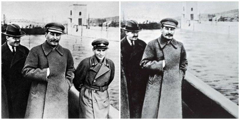 Józef Stalin nakazał usunięcie Jeżowa ze wszystkich zdjęć, na których znajdował się on obok niego /materiały prasowe