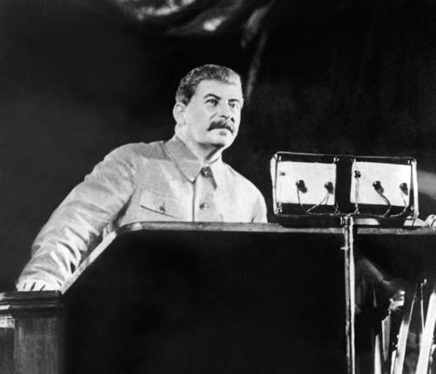 """Józef Stalin - """"założyciel"""" Polskiej Partii Robotniczej /AFP"""