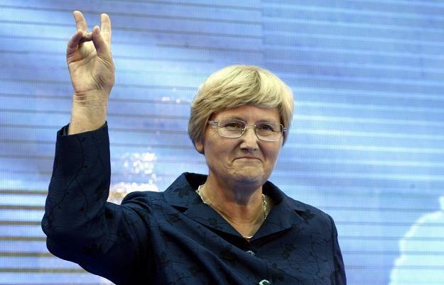 Jozefa Hrynkiewicz chce moratorium na budowę ferm (!!!!!) wiatrowych. Fot. Pawel Kozioł /Reporter