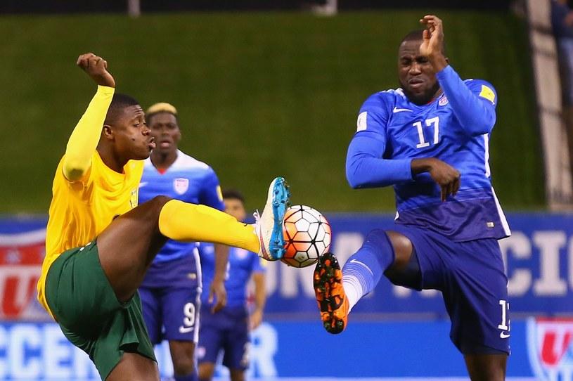 Jozy Altidore (numer 17) strzelił dwa gole dla USA /AFP