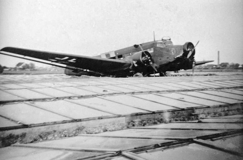 Ju-52 był podstawowym samolotem transportowym Luftwaffe /Wikimedia Commons /domena publiczna