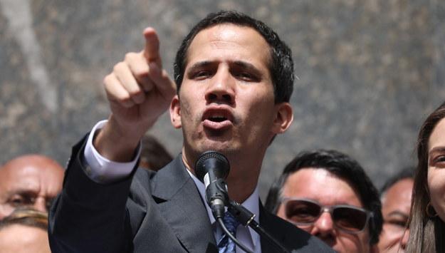 Juan Guaido /Miguel Gutierrez /PAP/EPA