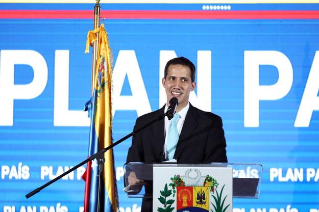Juan Guaido /CRISTIAN HERNANDEZ /PAP/EPA