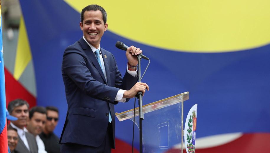 Juan Guaido /RAYNER PENA /PAP/EPA