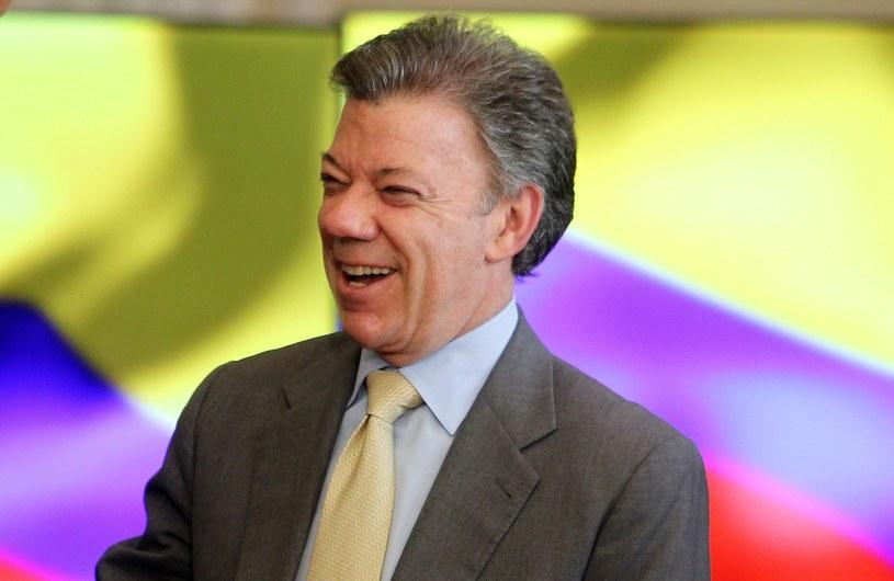 Juan Manuel Santos /PAP/EPA