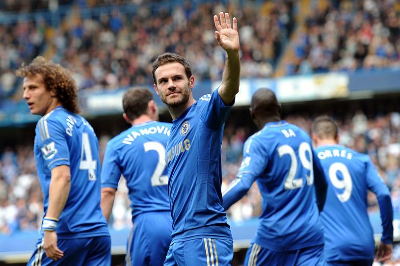 Juan Mata żegna się z Chelsea /AFP