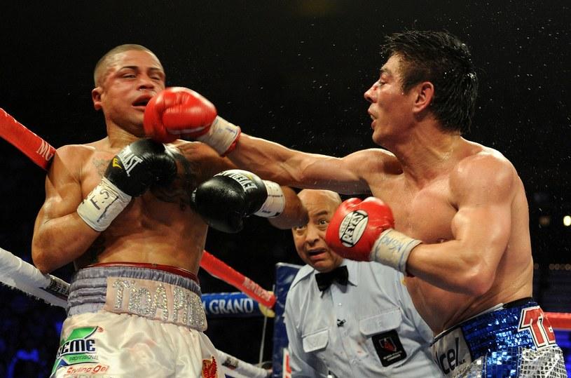 Juan Wilfredo Vazquez Jr (z lewej) /AFP