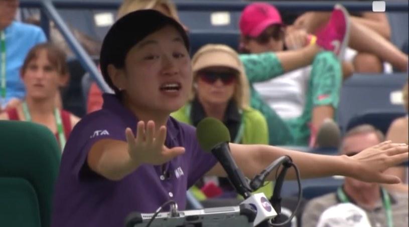 Juan Zhang narobiła bigosu w finale Indian Wells 2015. /INTERIA.PL