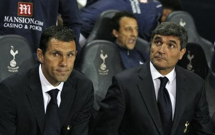 Juande Ramos (z prawej) /AFP