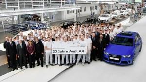 Jubileusz Audi - 20 lat A4