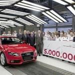 Jubileusz: Audi A4 nr 5 000 000!