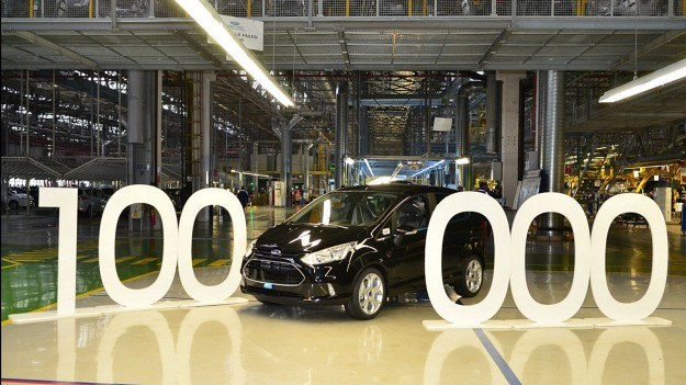 Jubileuszowy Ford B-Max z numerem 100 000 /Ford