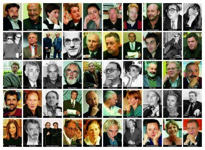 Jubileuszowy plakat z wizerunkami 50 filmowców /
