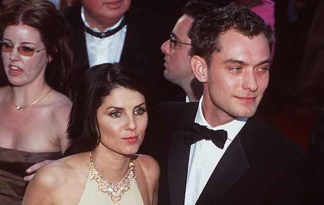Jude Law i Sadie Frost, fot. David McNew   /Getty Images/Flash Press Media