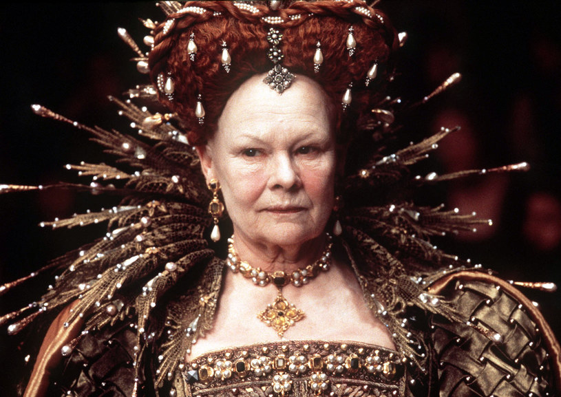 "Judi Dench w ""Zakochanym Szekspirze"" /Laurie Sparham / Miramax /Getty Images"