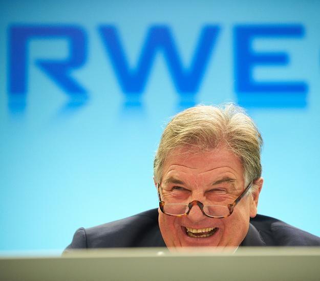 Juergen Grossmann, prezes RWE /AFP