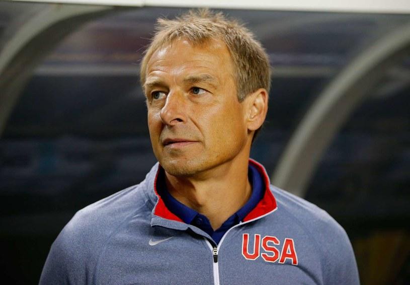Juergen Klinsmann podczas pracy z reprezentacją Stanów Zjednoczonych /AFP