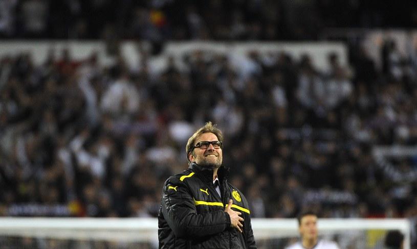 Juergen Klopp - cichy bohater półfinału Real - Borussia. /AFP