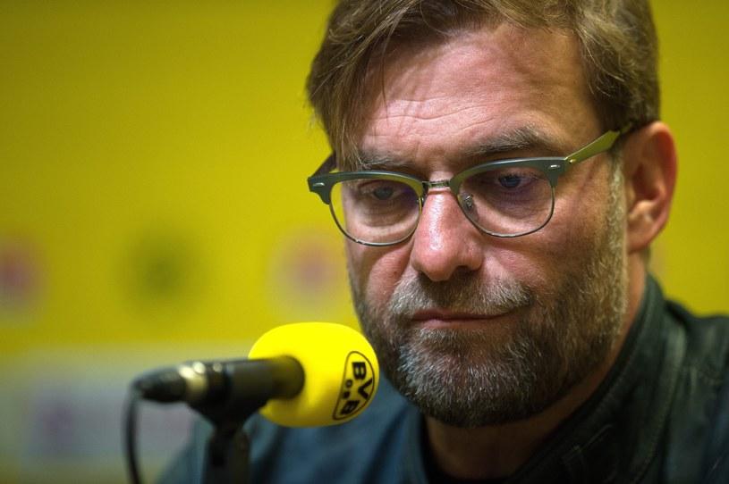 Juergen Klopp po sezonie odchodzi z Borussii Dortmund /PAP/EPA