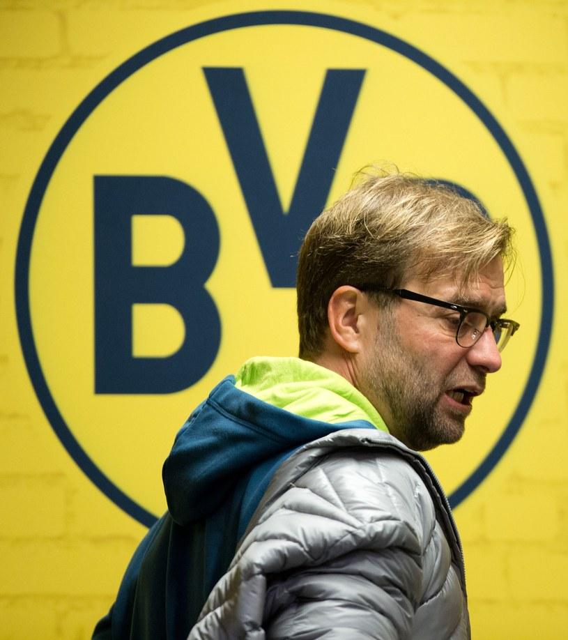 Juergen Klopp, trener Borussii Dortmund /AFP