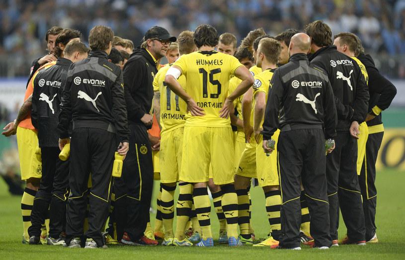 Juergen Klopp w wirze pracy w Borussii Dortmund /AFP