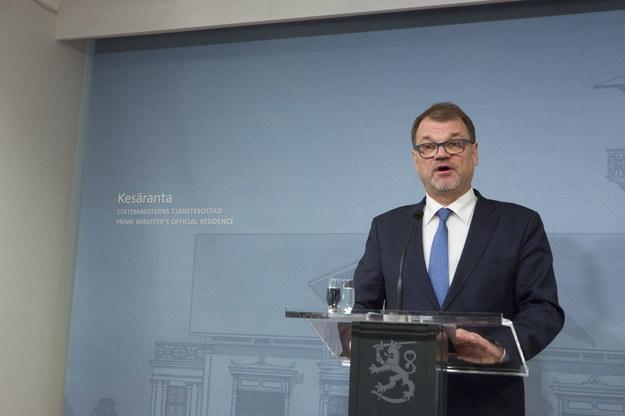 Juha Sipila /PEKKA SIPOLA   /PAP/EPA