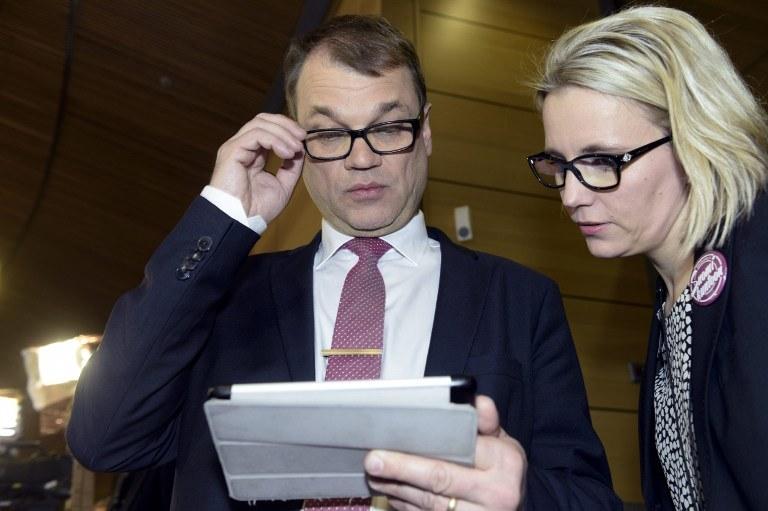 Juha Sipilae /AFP