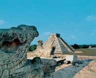 Jukatan, Chichén Itzá /Encyklopedia Internautica