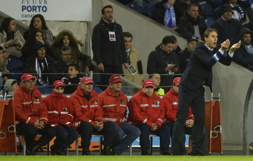 Julen Lopetegui podczas pracy w FC Porto /AFP