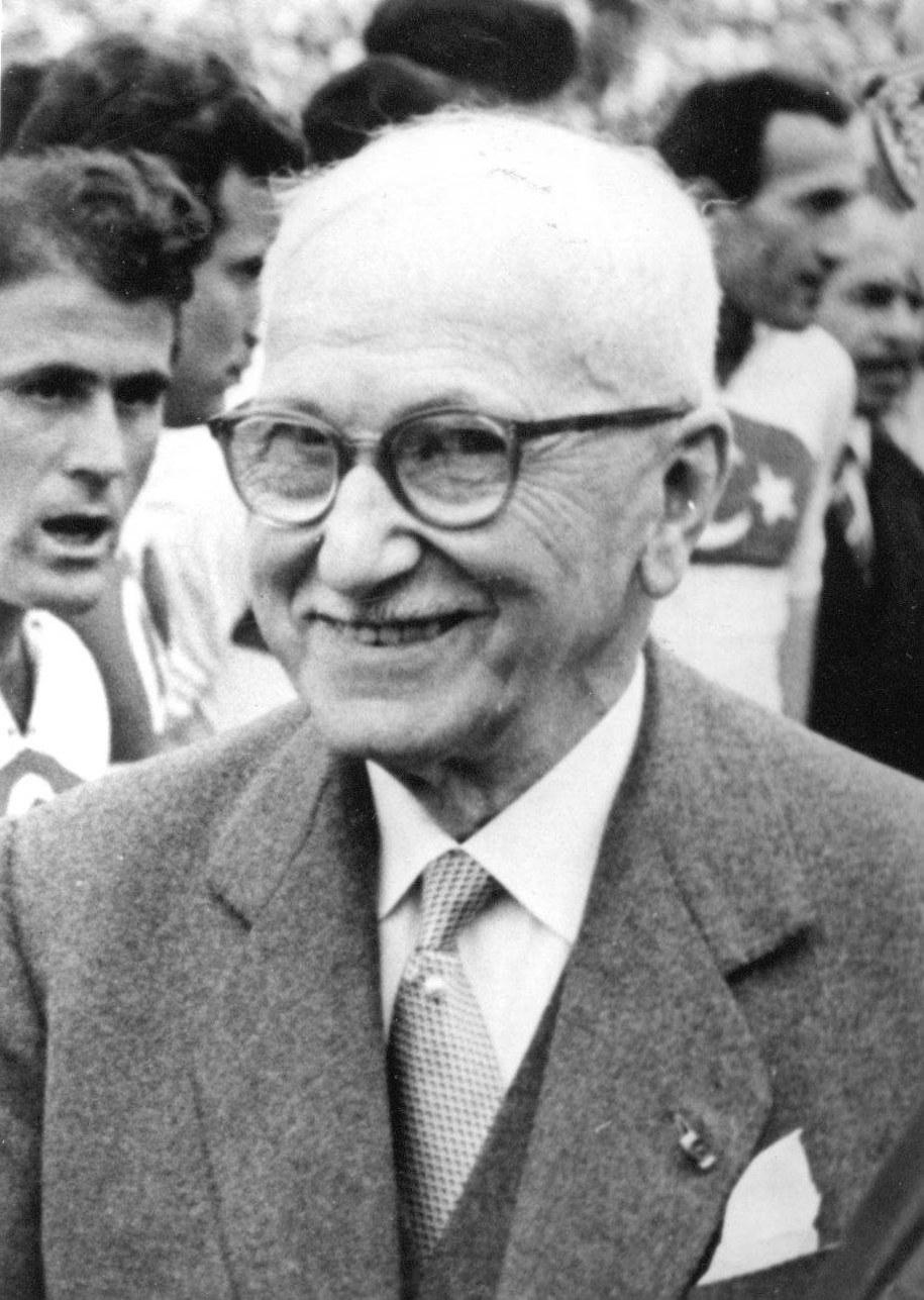 Jules Rimet na fotografii z 1954 roku /Schirner Sportfoto/DPA /PAP