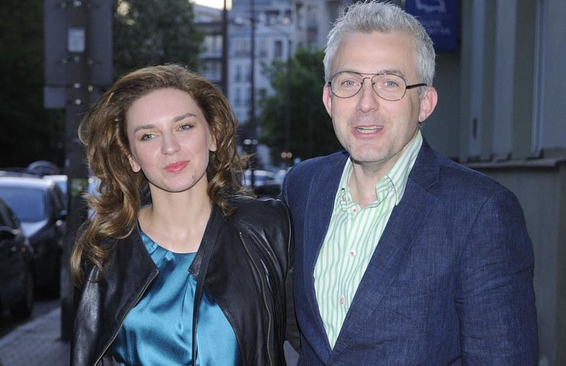 Julia Chmielnik i Hubert Urbański, 2012 rok /Jarosław Antoniak /MWMedia