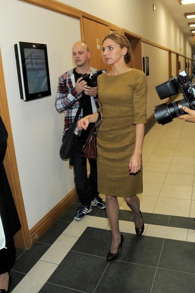Julia Chmielnik zadała szyku w sądzie /Mateusz Jagielski /East News