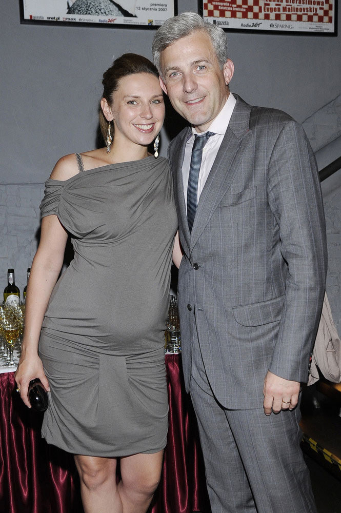 Julia i Hubert mają już dwie córeczki  /Andrzej Engelbrecht /AKPA