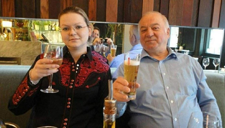 Julia i Siergiej Skripalowie /RUSSIAN LOOK /PAP/EPA