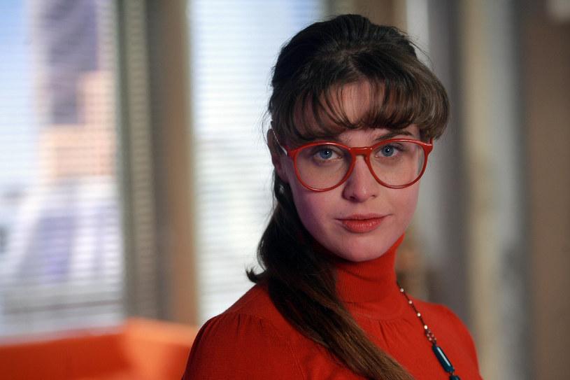 "Julia Kamińska w serialu ""BrzydUla"" /Rafal MESZKA/East News /East News"