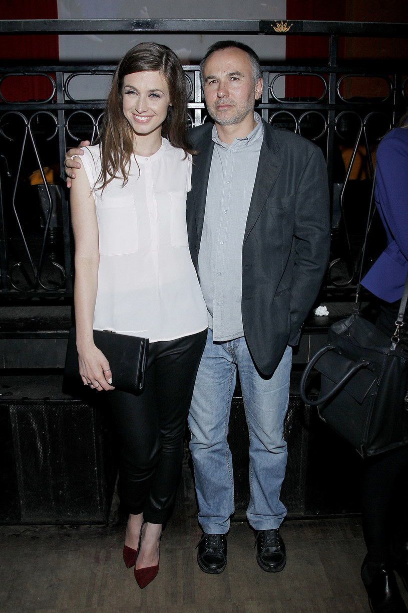 Julia Kamińska ze swoim partnerem Piotrem Jaskiem /Jordan Krzemiński /AKPA