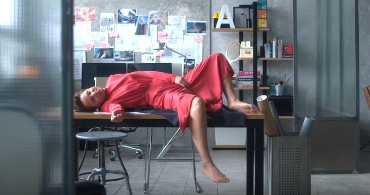 """Julia Kijowska w scenie z filmu """"Fisheye"""" /YouTube"""