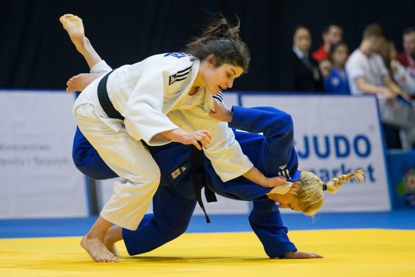 Julia Kowalczyk (białe kimono) /Fot. Tomasz Jastrzębowski/REPORTER /East News