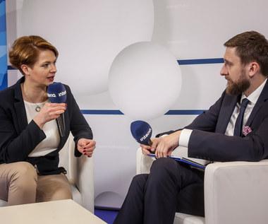 Julia Krysztofiak-Szopa, prezes Startup Poland w studiu Interii