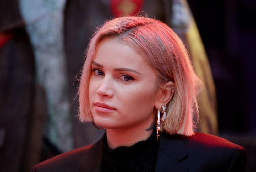 Julia Kuczyńska podczas konferencji prasowej przed 28. finałem WOSP /Jan Bielecki /East News